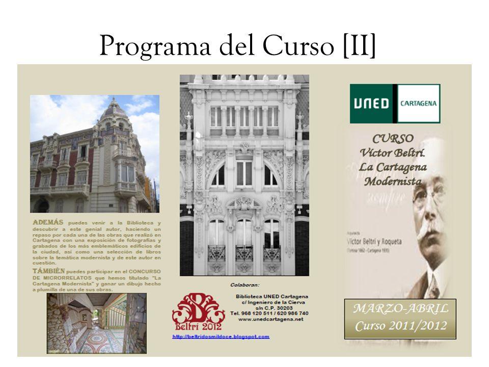 Programa del Curso [II]